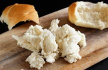Foods to watch out for, to prevent choking - Bread