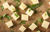Foods to watch out for, to prevent choking - Cheese Cubes